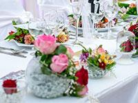 dekorace - Svatební dekorace